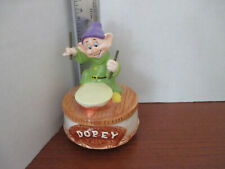 Schmid~Disney's Musical Snow White Dopey Revolving Figurine~Put On A Happy Face