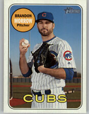 Brandon Morrow 2018 Topps Heritage High Number SP Card Cubs #724