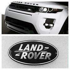 LAND ROVER BLACK FRONT BADGE EMBLEM FITS RANGE ROVER EVOQUE VOGUE SPORT DEFENDER