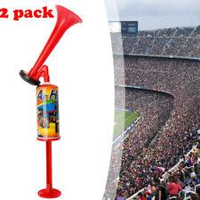 2x Pump Air Horn Loud Hand Held Football Sport Event Party Concert Festival Horn