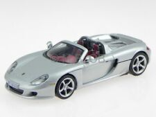 Porsche Carrera GT silber Modellauto Cararama 1:43