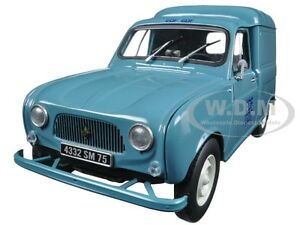 1965 RENAULT 4 F4 FOURGONETTE EDF GDF 1/18 DIECAST CAR MODEL BY NOREV 185197