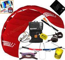 Hq Hq4 Beamer 4M Kite Quad Handle 4-Line Foil Power Traction Buggy Jumping +Kite