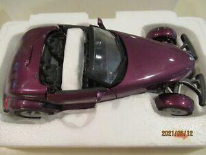 1:24 Danbury Mint Plymouth Prowler Purple COT