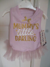 BNWT, LIGHT PINK TUTU FOR BICHON FRISE, SHIH TZU etc FROM WAG-A-TUDE - SMALL