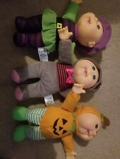 Soft Sculpture Cabbage Patch Kids Harvest Helpers Dolls
