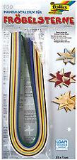 folia 1296 - Papierstreifen für Fröbelsterne