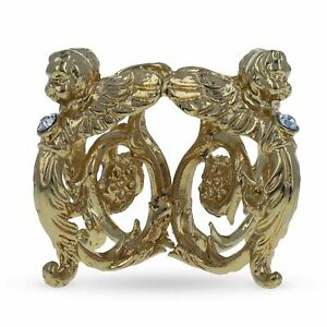 Peter the Great Gold Tone Metal Egg Stand Holder Display