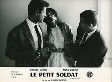 MICHEL SUBOR LE PETIT SOLDAT JEAN-LUC GODARD 1963 VINTAGE PHOTO ORIGINAL #1