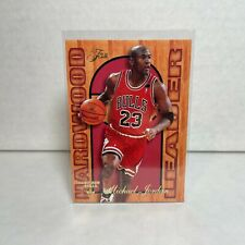 MICHAEL JORDAN 1995-96 Fleer Flair Hardwood Leader #4 Chicago Bulls