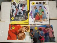 DVD SERIE REBELDE WAY 9 CAPITULOS EN 3 DVDS (32-43) USADA EN BUEN ESTADO