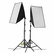 Photo Studio Continuous Softbox Lighting Boom Video Soft Box Light Stand Kit