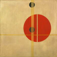 Laszlo Moholy Nagy Suprematistic Giclee Art Paper Print Poster Reproduction