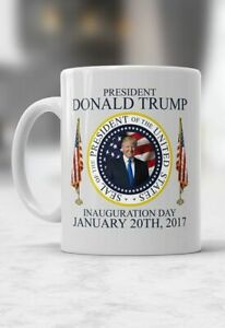 Donald J Trump Mug, 45th President of the USA Funny Coffee Cup Gift For Men W...