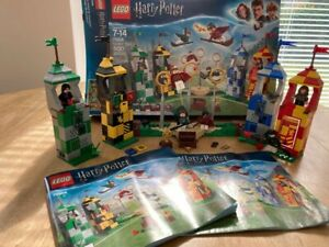 Lego Harry Potter quidditch match 75956 used 100% complete inc box  instructions