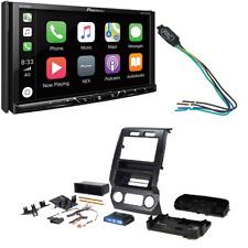New listing Pioneer Hd Radio Receiver Dash kit Fits 2015-2016 Ford F-150, 2017 Ford F-250