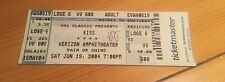 Kiss 2004 Rock The Nation Tour Ticket June 19th 2004