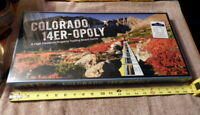 COLORADO 14ER-OPOLY High Elevation Property Trading Board Game NEW Monopoly