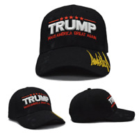 MAGA President Donald Trump 2020 Make America Great Again Hat Black cap