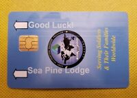 US ARMY SLOT MACHINE GAMING CARD - Sea Pines Lodge Camp Darby Italy