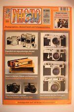 Photo deal photo deal cuaderno 50 3/2005, retina II, Contax III, Minox, auto focus