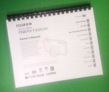 LASER PRINTED Fujifilm F300EXR F305EXR FinePix Camera 147 Page Owners Manual Gui