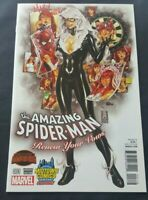 AMAZING SPIDER MAN RENEW YOUR VOWS 1 VARIANT MARK BROOKS NM 2 0 1 4 BLACK CAT