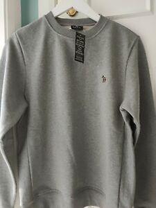 Paul Smith Zebra Sweatshirt Grey Small BNWT
