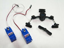 NEW TRAXXAS REVO 3.3 Servo 2075 X2 Waterproof +Steering Bellcrank/ Saver RR20