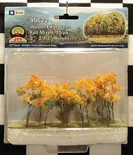 "JTT SCENERY 95622 WOODS EDGE TREES - FALL MIXED  2"" - 2 1/2""  N-SCALE  15/PK"