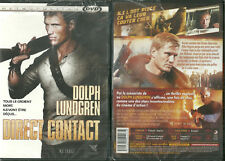 DVD - DIRECT CONTACT avec DOLPH LUNDGREN / NEUF EMBALLE - NEW & SEALED