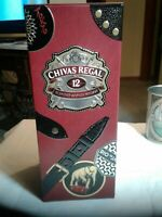 "Chivas Regal Empty Tin Box Limited Edition Globe-Trotter Suitcase Company10*4*4"""