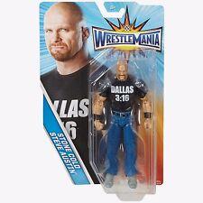 Wwe Stone Cold Steve Austin WRESTLEMANIA 33 serie di base Figura Wrestling Mattel