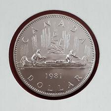 1981 Canada Specimen Nickel Dollar