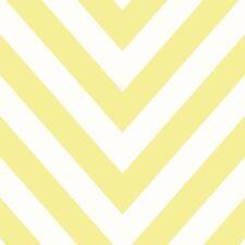 CHEVRON ZIG ZAG Papier peint jaune - Holden décor 12573 NEUF