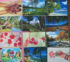 Vintage ART PICTURE POSTCARD PPC 12 PCS LOT ASSORTED  India  L 3