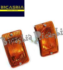 3062 - COPPIA FRECCE ANTERIORI SINISTRA + DESTRA VESPA 50 125 PK XL N V RUSH FL
