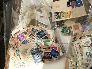 Joblot Vintage Royal Mail Stamps Plus Extras