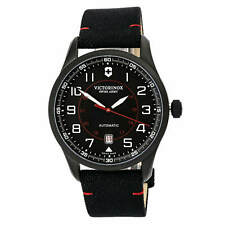 Victorinox Swiss Army Men's Watch AirBoss Mechanical Black Nylon Strap 241720