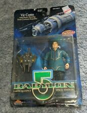 BABYLON 5 PREVIEW EXCLUSIVE FIGURE VIR COTTO, NEVER OPENED.