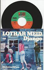 """Lothar Meid """"Django/la piccola Prato"""" 7"""" single 1978-Amon Düül"""