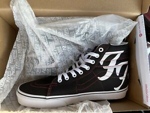 Foo Fighters x Vans US Mens Size 10 SK8-HI 25th Anniversary LE *IN HAND*