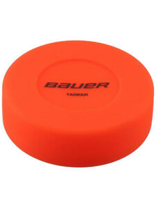Palet orange Bauer souple hockey sur glace et roller hockey