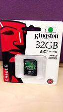Kingston TECHNOLOGY 32 GB HC I CLASS 10 30 MB/s HD VIDEO