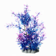 HU SODIAL(R) Plante Artificielle Decoration plastique pour Aquarium reservoir de