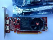 DUAL DISPLAYPORT ATI RADEON HD 3470 256MB PCIE DELL W459D 0W459D & DVI ADAPTERS