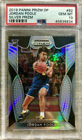 2019-20 Panini Jordan Poole Silver Prizm Rookie Card RC PSA 10 GEM Mint Warriors