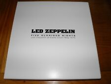Led Zeppelin - Five Glorious Nights Book Earls Court 1975 100 ONLY SIGNED RARE