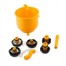 Coolant Funnel Radiator Fill Kit  Anti Spill Filling Station Workshop Quality