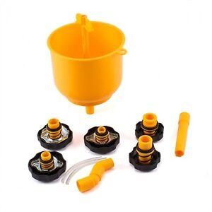 Coolant Funnel Radiator Fill Kit  Anti Spill Filling Station Workshop Quality
